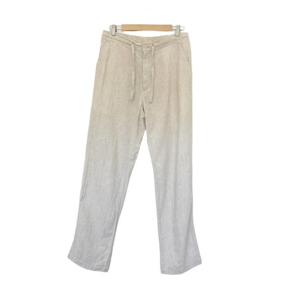 Cubavera Mens Linen Blend Pants 34X32